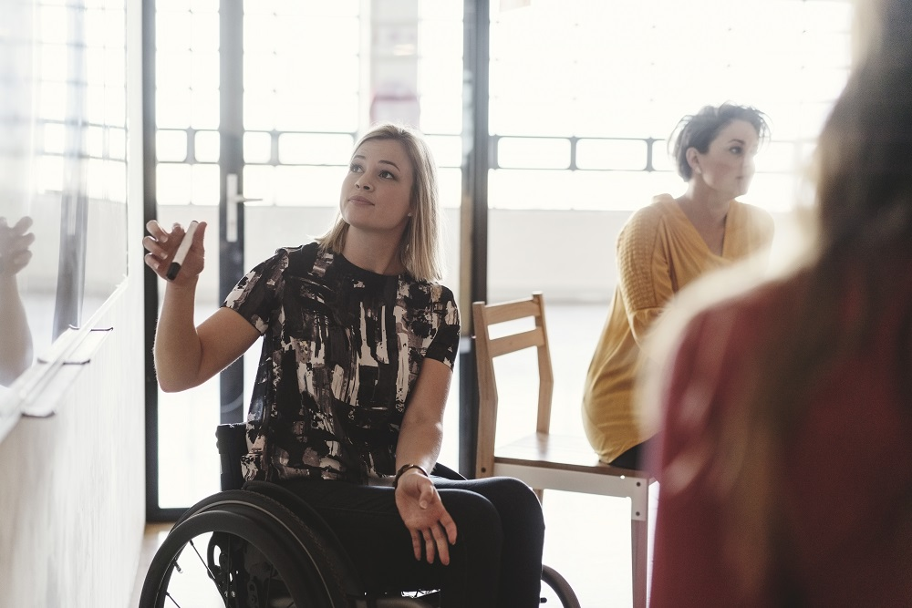Health, disability and becoming a health and care professional